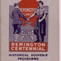 Rem Centennial Program cover
