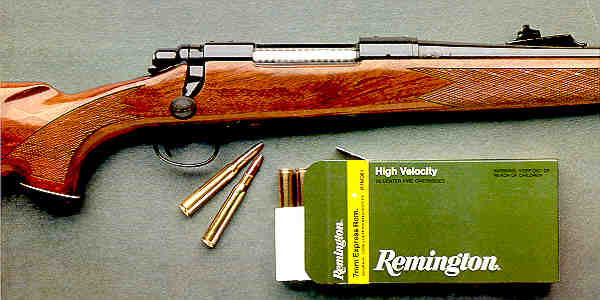 Photo of a Remington Model 700 High-Power Rifle in 7mm Express Remington caliber