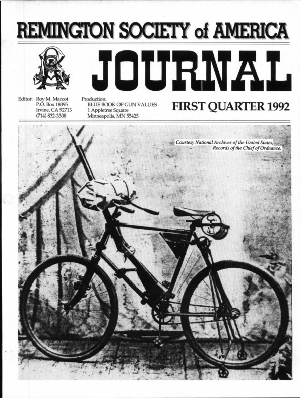 The 1st Quarter 1992 RSA Journal