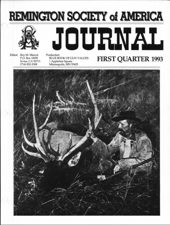 The 1st Quarter 1993 RSA Journal