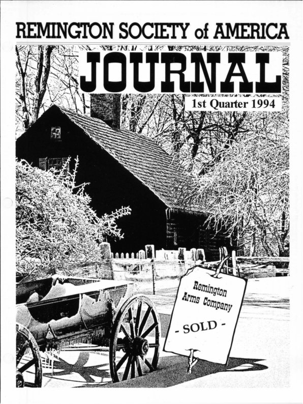 The 1st Quarter 1994 RSA Journal