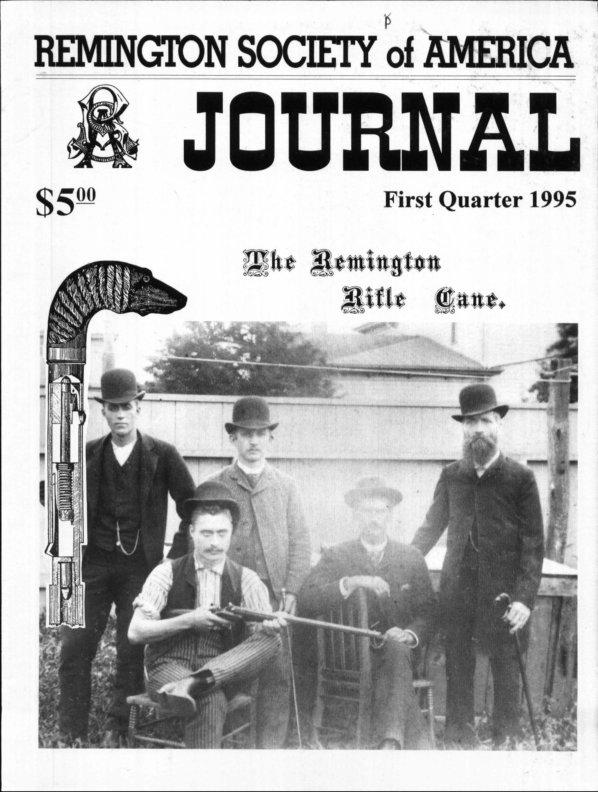 The 1st Quarter 1995 RSA Journal