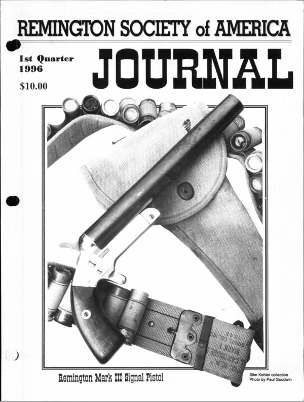 The 1st Quarter 1996 RSA Journal