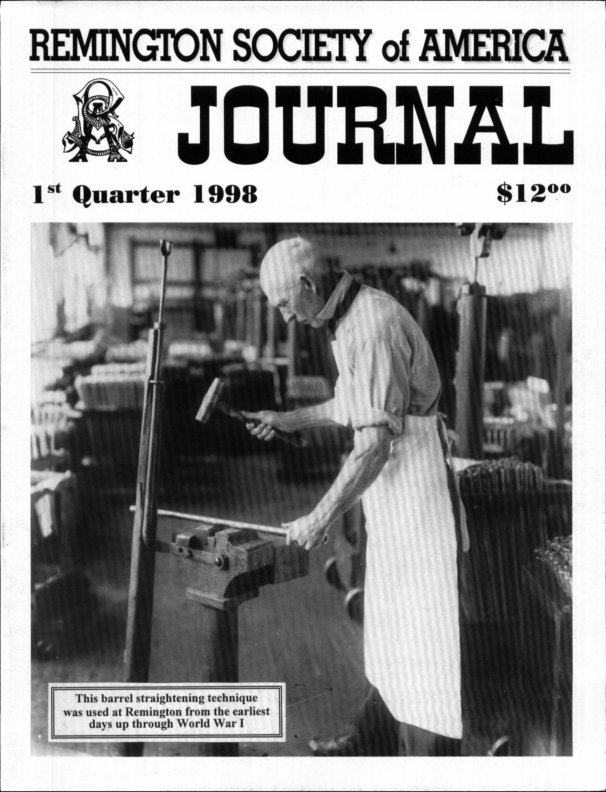 The 1st Quarter 1998 RSA Journal