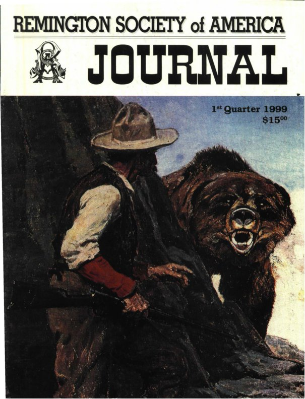 The 1st Quarter 1999 RSA Journal