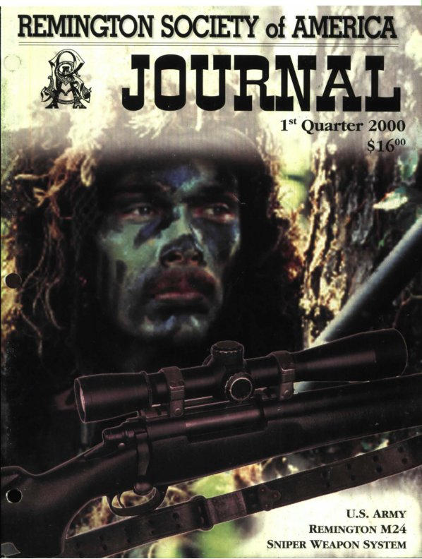 The 1st Quarter 2000 RSA Journal