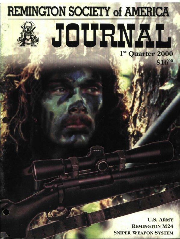 The 1st Quarter 2000 RSA Journal