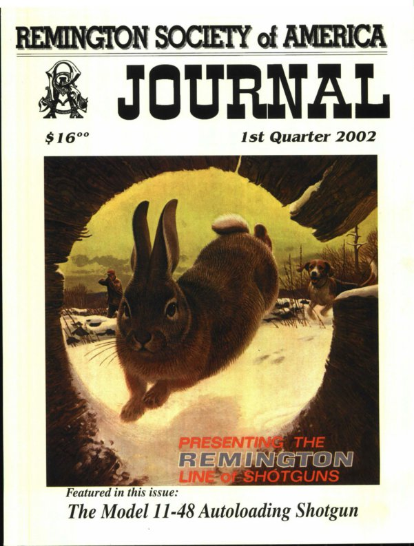 The 1st Quarter 2002 RSA Journal