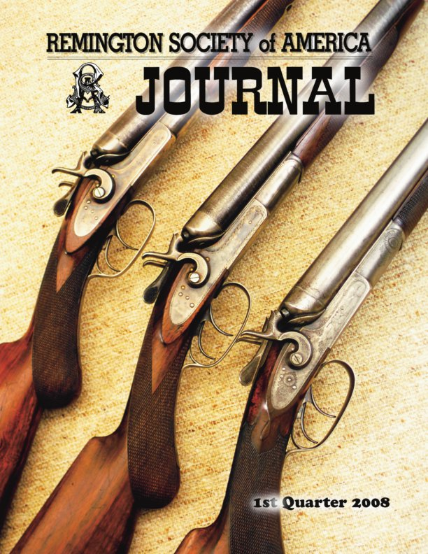 The 1st Quarter 2008 RSA Journal