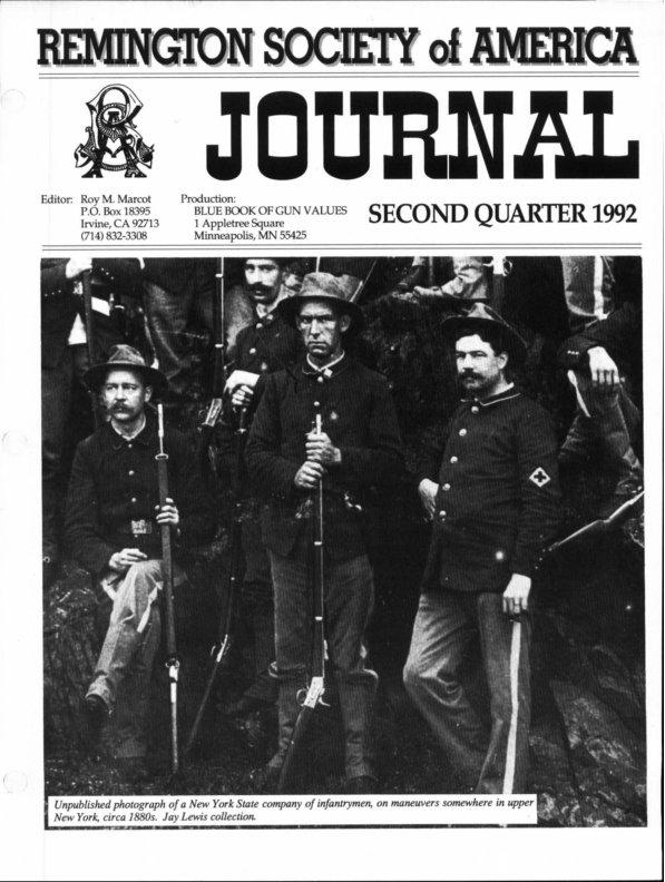 The 2nd Quarter 1992 RSA Journal