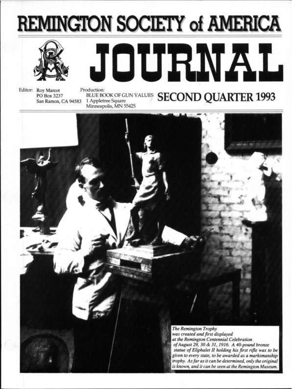 The 2nd Quarter 1993 RSA Journal