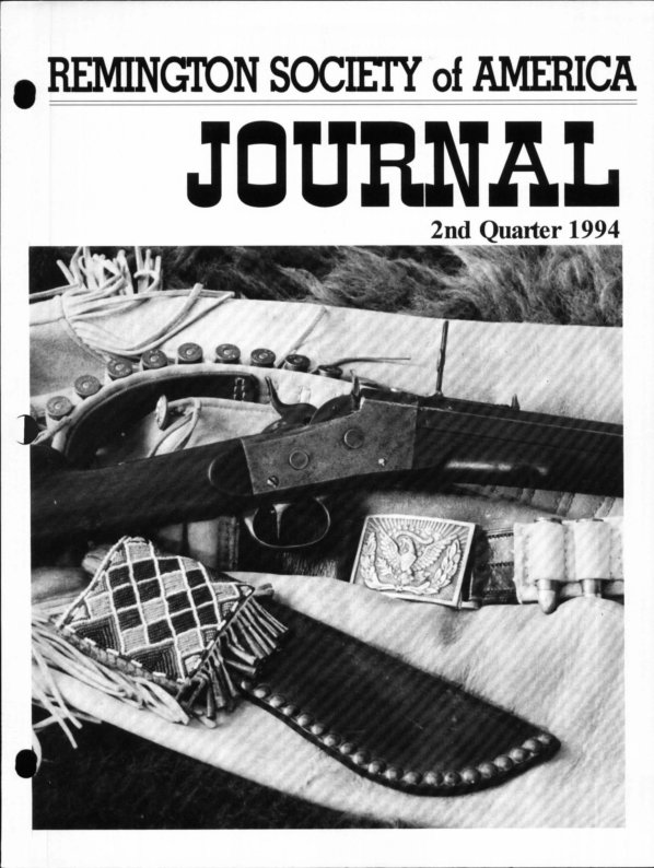 The 2nd Quarter 1994 RSA Journal