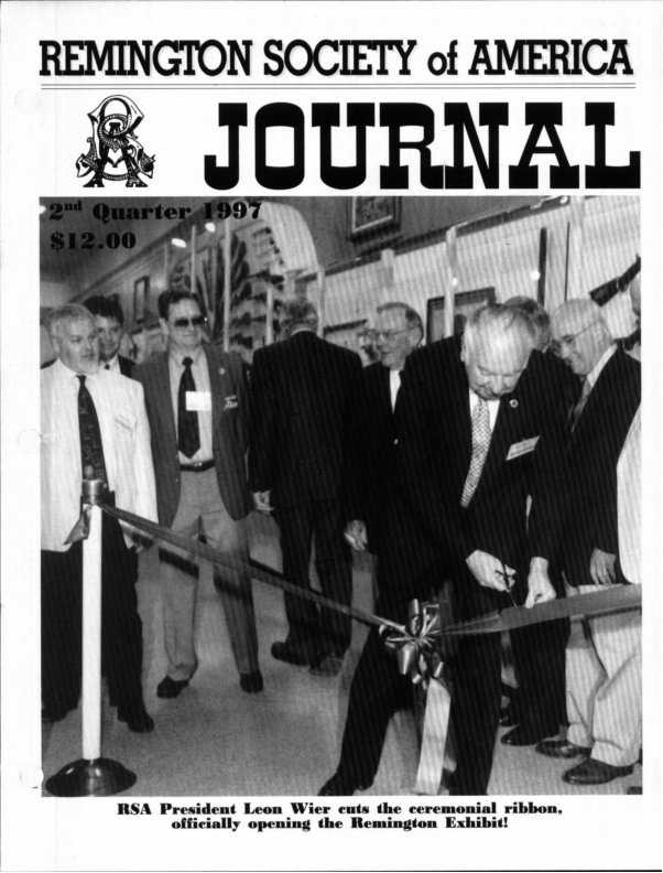 The 2nd Quarter 1997 RSA Journal