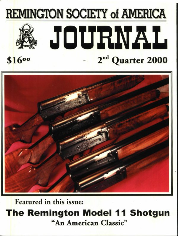 The 2nd Quarter 2000 RSA Journal