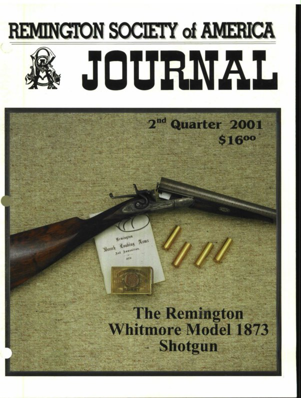 The 2nd Quarter 2001 RSA Journal