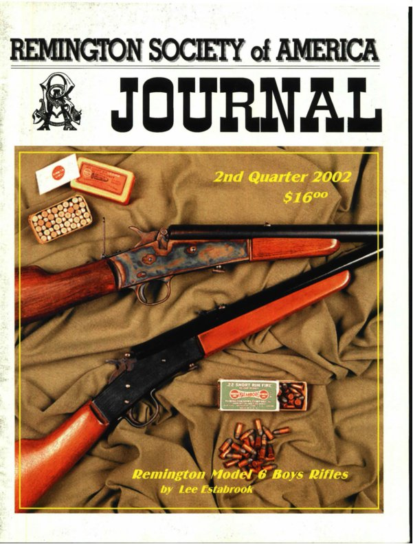 The 2nd Quarter 2002 RSA Journal