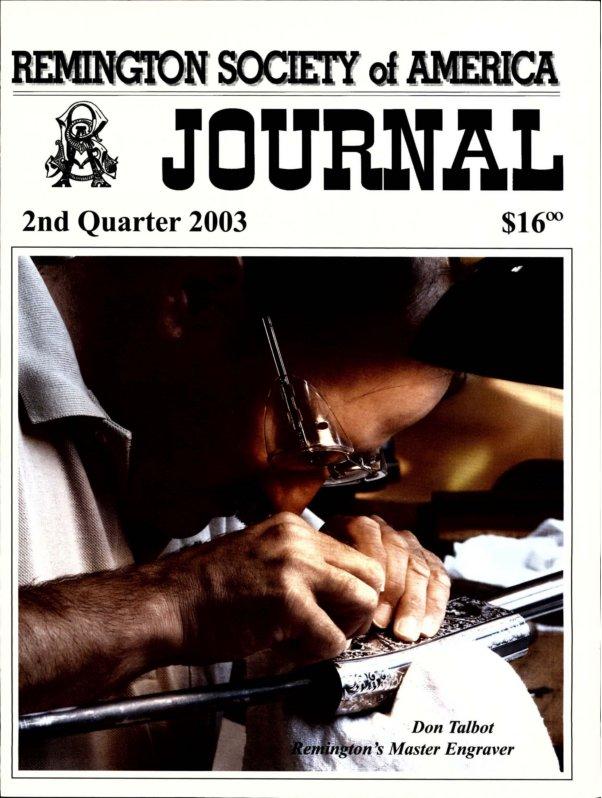 The 2nd Quarter 2003 RSA Journal