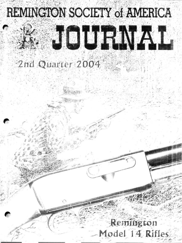 The 2nd Quarter 2004 RSA Journal