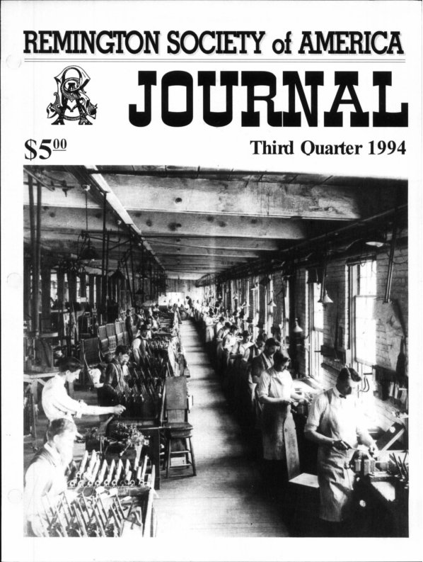 The 3rd Quarter 1994 RSA Journal
