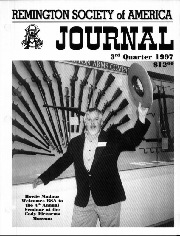 The 3rd Quarter 1997 RSA Journal