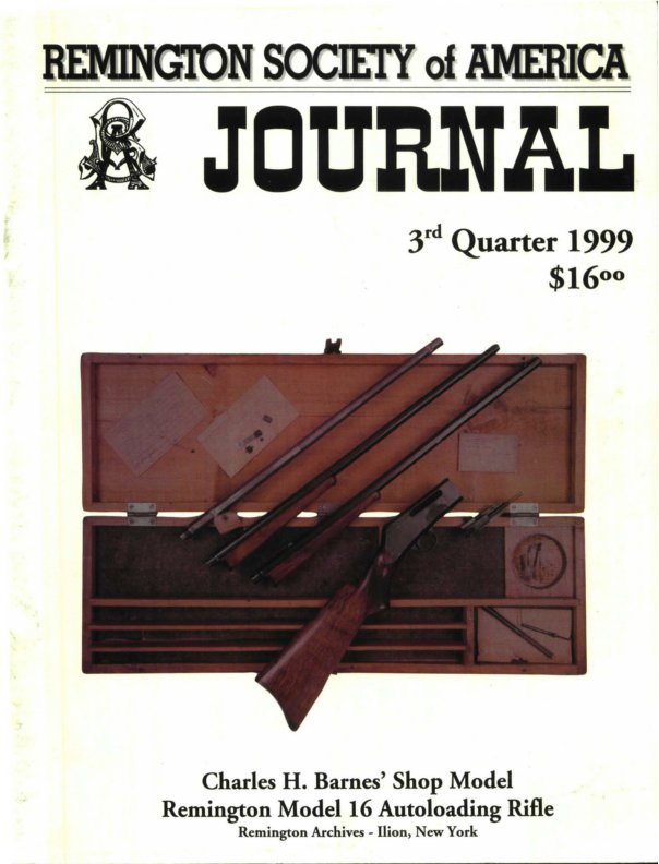The 3rd Quarter 1999 RSA Journal