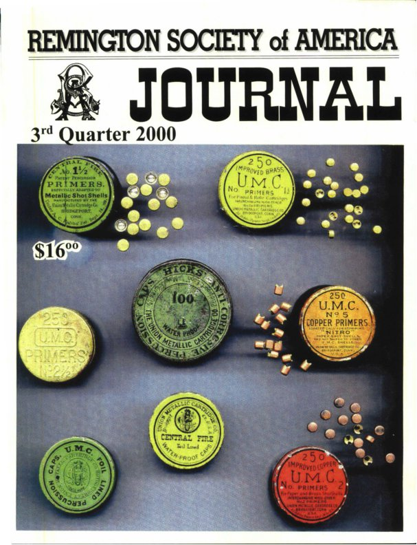 The 3rd Quarter 2000 RSA Journal