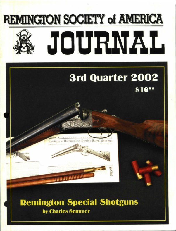 The 3rd Quarter 2002 RSA Journal