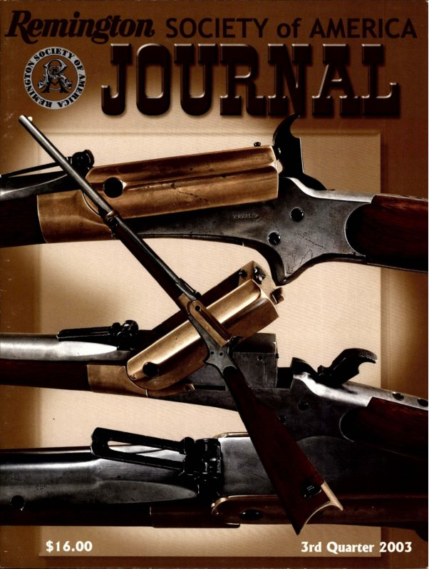 The 3rd Quarter 2003 RSA Journal