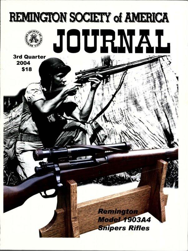 The 3rd Quarter 2004 RSA Journal