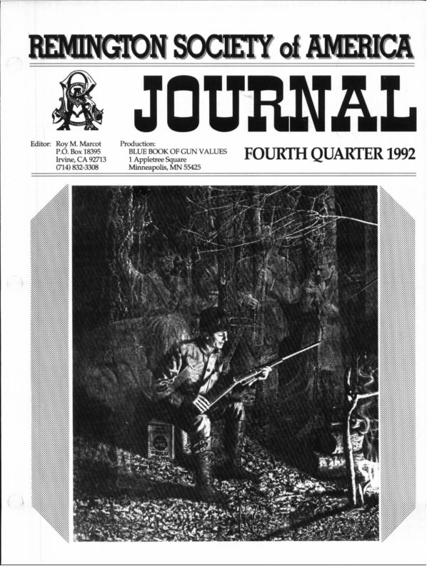 The 4th Quarter 1992 RSA Journal