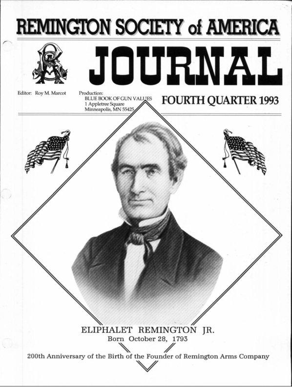 The 4th Quarter 1993 RSA Journal
