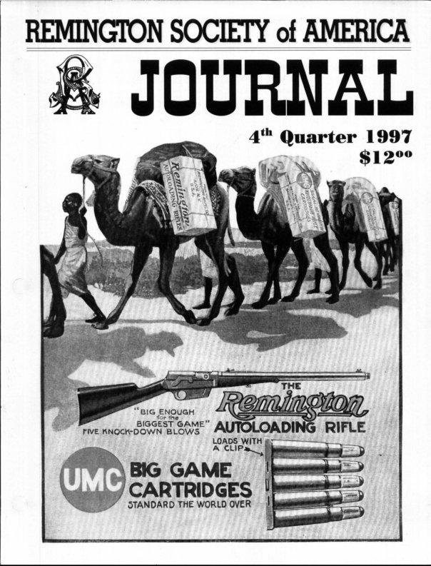 The 4th Quarter 1997 RSA Journal