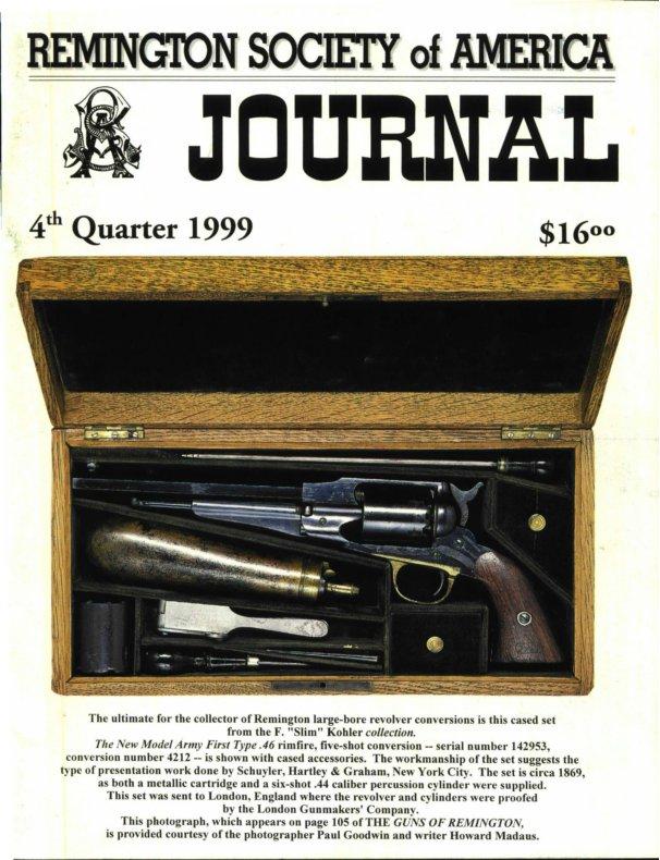 The 4th Quarter 1999 RSA Journal
