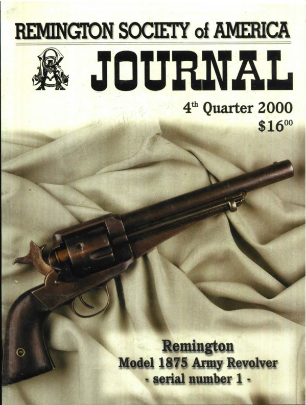 The 4th Quarter 2000 RSA Journal