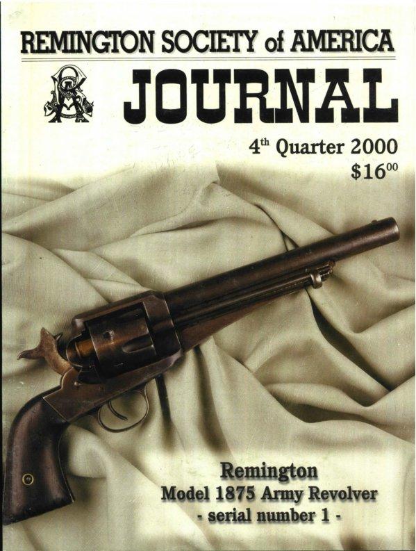 The 4th Quarter 2000 RSA Journal