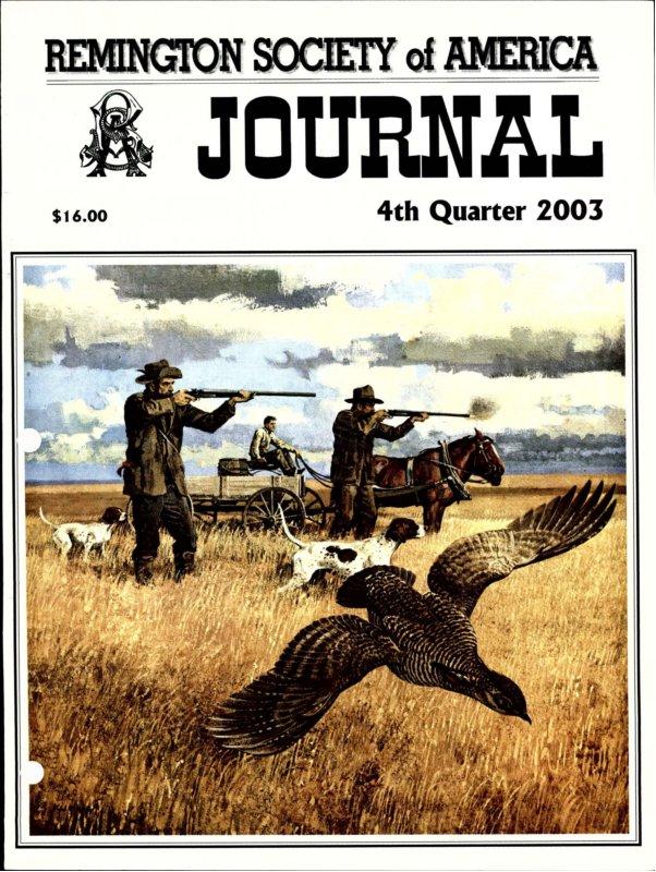 The 4th Quarter 2003 RSA Journal