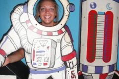 Kelsey in space