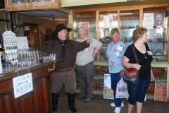 Cowboy Jay Gary and Jean at Bird Cage