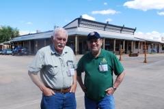 Ed Curtis and Bob Hatfield