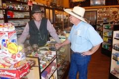 Kevin Mulkins and storekeeper