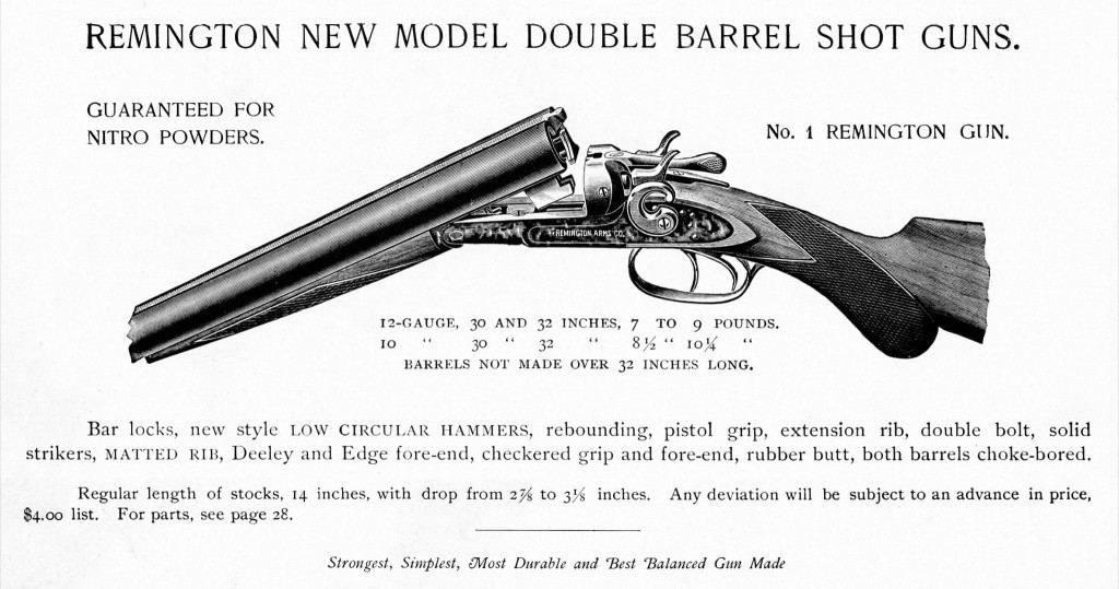 1889 catalogue - No1 gun