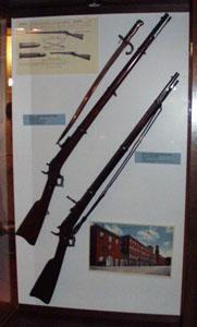 Remington rolling block military rifles.