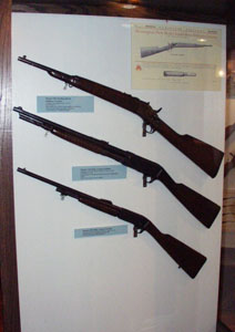 Miscellaneous Remington rifles.