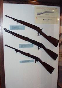 Miscellaneous Remington rifles.