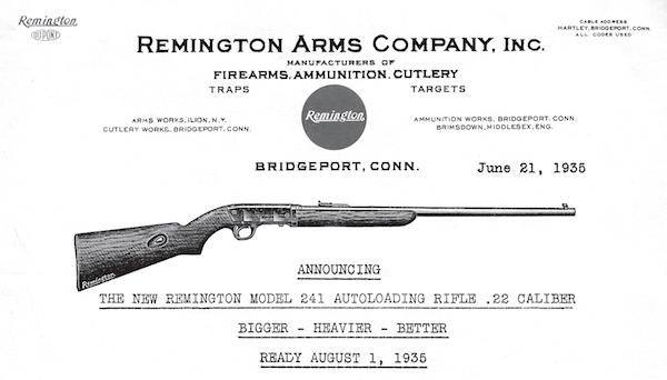 Remington dating diagram