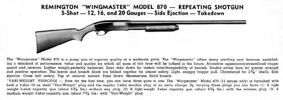a guide to collecting remington model 870 shotguns remington rh remingtonsociety org Remington Tactical 870 Shotgun Remington 870 Pistol Grip Shotgun