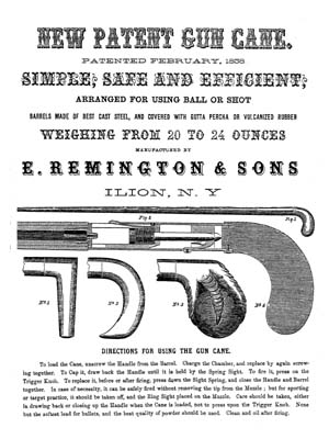 Early advertisement of E. Remington & Sons.