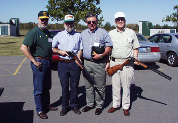 Remington treated the attendees to an afternoon of trap and skeet shooting at the Remington Gun Club.