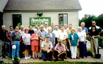 RSA members gather for a group photograph.