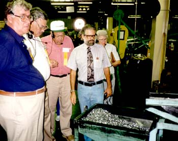 RSA attendees are shown all aspects of ammo manufacturing.